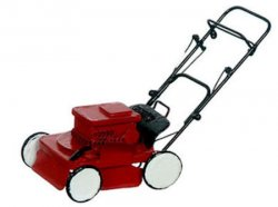 Lawn Mower, Modern Red