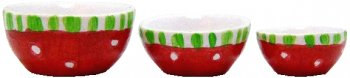 Christmas Bowl Set, 3pcs