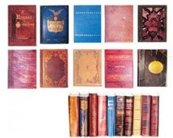 Books, Antique Set #2, 10pcs