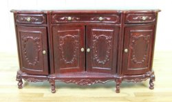 Buckingham Buffet, Mahogany
