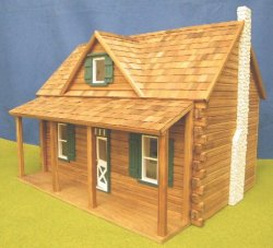 Log Cabin Dollhouse Kit