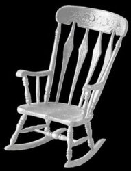 Arrowback Rocker MiniKit, White