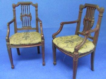 Sheridan Chairs Pair Cdr101 119 99 Miniature