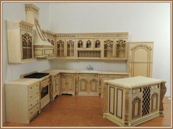 Chef Julias Kitchen Set Unfinished 12pcs Bqjuliauf