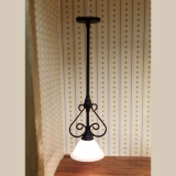 Wrought Iron Ceiling Light
