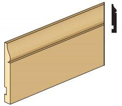 "Electrical Corner Molding 1//4/"" Dollhouse Trim Basswood 1pc"