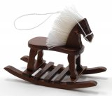 Rocking Horse, Walnut