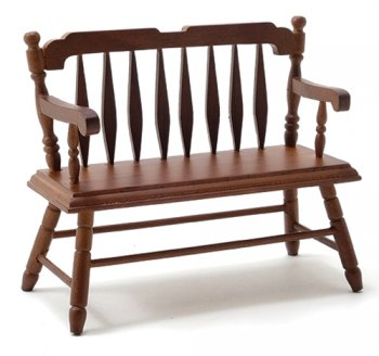 Deacon Bench, Walnut