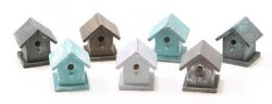 Bird House, Handpainted, Assorted Colors