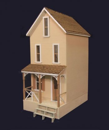 The Clarksville Dollhouse Kit