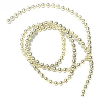 Gold Ball Garland, 1yd