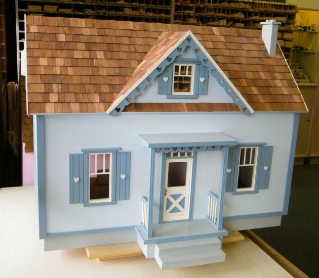 Country Cottage Dollhouses Kit - Click Image to Close