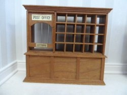 "1/2"" Cherry Post Office by Gene King"