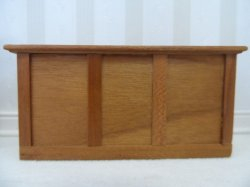 "1/2"" Cherry Store Cabinet by Gene King"