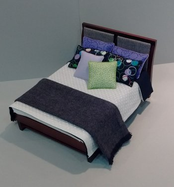 Double Comforter, Modern w/Throw