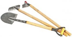 Large Garden Tools, 3 pc