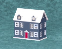 Dollhouse for the Doll House, Blue