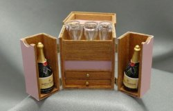 Champagne and Cigars Box