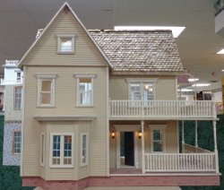 Victoria's Farmhouse Dollhouse Complete & Upscaled!