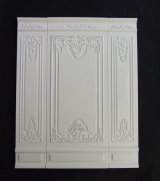 "Fancy Wall Panel, 2"" White"