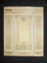 "Fancy Wall Panel, 2"" Unfinished"