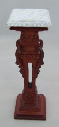 Carved Pedestal Stand, Mahognay