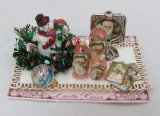Christma Tray, Filled w/ Perfume