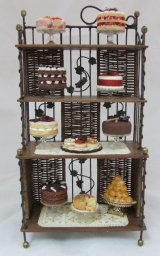 Vineyard Bakers Rack Filled w/ Sweets