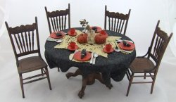 Halloween Table & Chairs