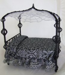 Black Spider Bed