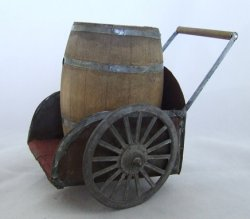 Barrel Cart w/ Barrel
