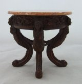 Small Round Marble Top Table