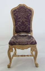 French Chair, Purple