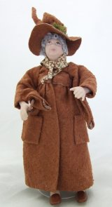 Professor Sprout in Brown