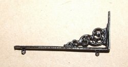 Colonial Store Sign Hanger, Black