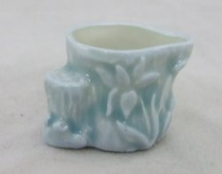 Celadon Tree Trunk Bowl