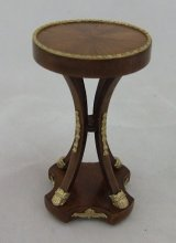 French Empire Wine/Lamp Table