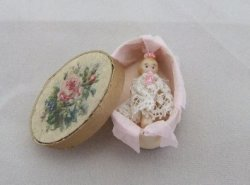 Baby Doll in Oval Box
