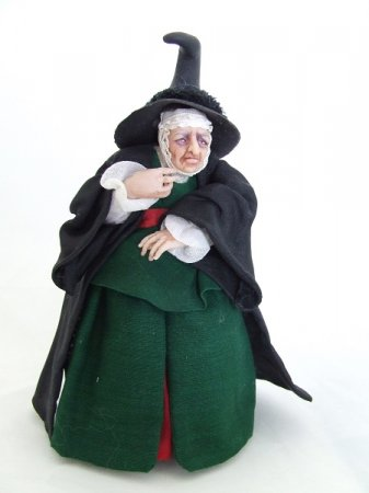 Peasent Witch Doll