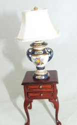 Handpainted Lamp, Caroline