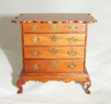 Chippendale Chest, Walnut, Signed