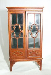 1780 China Cabinet, Walnut