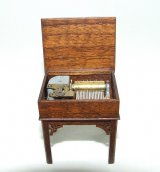 Music Box, Chinese Chippendale 17th C, Signed