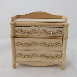 Baby Chest of Drawers, Unfinished