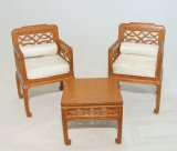 Regency Lattice Sitting Room, 3pc