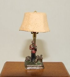 Master/Hounds Lamp, Painted