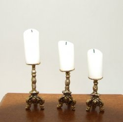Candlestick Set, 3pcs