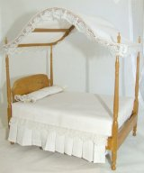 Double Canopy Bed, FW