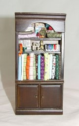 Plain Sewing Cabinet, Filled