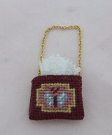 Petit Point Purse, Butterfly